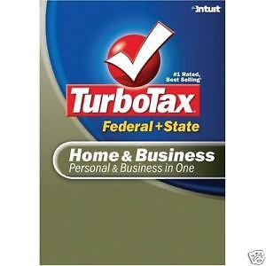 2009-Turbotax-home-Business-Fed-State-NEW