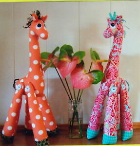 PATTERN - Mrs Perkins - fabulous giraffe PATTERN by Melly and Me