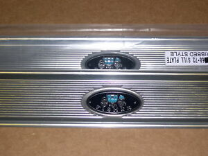 1969-72 GRAND PRIX DOOR SILL PLATES, PAIR