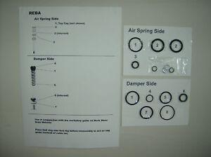 Rock-Shox-Reba-Race-O-rings-Seals-Crush-Washer-kit