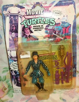 1992 TEENAGE MUNTANT TURTLES NINJA MOVIE III TMNT PRINCESS MITSU NEW MOC - Teenage Princesses