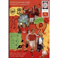 * 2002 COMMUNITY SHIELD - ARSENAL v LIVERPOOL *