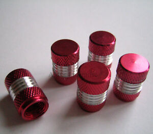 Red-Silver-Alloy-Dust-Valve-Caps-for-Mercedes-Benz-A-B-C-E-Class-SLK-CL-SL-CLS-M