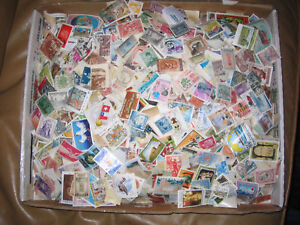 Stamps-WorldWide-1-000-Lot-1870s-to-1970s