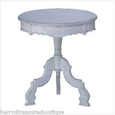decorative themed figure round glass top accent table ebay. Black Bedroom Furniture Sets. Home Design Ideas