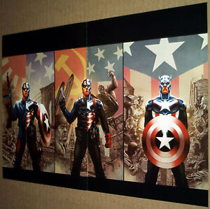 CAPTAIN-AMERICA-43-44-45-POSTER-BUCKY-WINTER-SOLDIER-AVENGERS-AVX-SHIELD-MARVEL