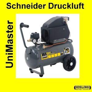 schneider kompressor unimaster unm 210 8 25 w a711000 ebay. Black Bedroom Furniture Sets. Home Design Ideas