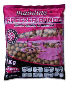 1kg-MAINLINE-FROZEN-PINEAPPLE-BOILIES-18mm-CARP-FISHING