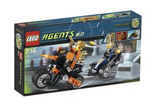 LEGO Agents 2.0 goldzahns Flucht (8967) (8967) (8967) e4022f