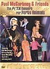 Paul McCartney  Friends: The PETA Concert for Party Animals (DVD, 2001)