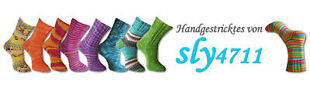 handgestrickte Socken von sylvia