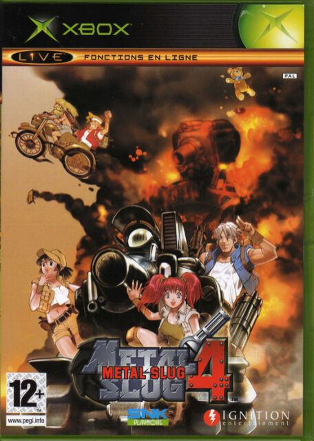 Metal Slug 4 (Microsoft Xbox, 2005) - PAL European Version