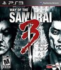 Way of the Samurai 3 (Sony PlayStation 3, 2009)