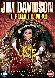 Jim-Davidson-If-I-Ruled-The-World-DVD-Very-Good-DVD