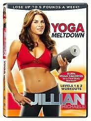 Jillian Michaels: Yoga Meltdown (DVD, 20...
