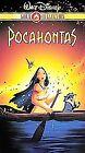 Pocahontas (VHS, 2000, Gold Collection Edition)