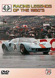 Quantum Leap QLDVD7058 Motor-Racing Legends Of The 1960s (DVD, 2010)