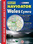 (very Good)-philip's Navigator Wales (philip's Road Atlases & Maps) (paperback)- Goede Warmteconservering
