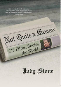 Not-Quite-a-Memoir-Of-Films-Books-the-World-Judy-Stone-Paperback-Book-NEW
