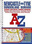 Newcastle Upon Tyne Street Atlas (Street Maps & Atlases)-ExLibrary