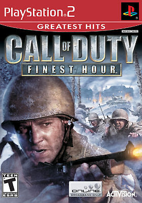 Call of Duty: Finest Hour (Sony PlayStation 2, 2004) - European Version