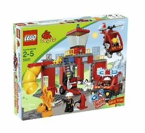 NEW Lego Duplo 4664 FIRE STATION  Boys Girls - SEALED Ships World Wide