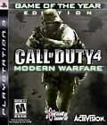 Call of Duty 4: Modern Warfare (Game of The Year Edition)  (Sony Playstation 3, 2008) (2008)