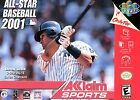 All-Star Baseball 2001  (Nintendo 64, 2000) (2000)