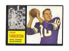 Rookie Minnesota Vikings NFL Football Trading Cards