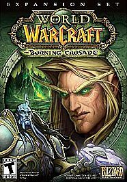 World Of Warcraft Expansion: Burning Crusade, ( PC / MAC - 2006 ) Games