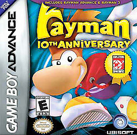 Rayman-10th-Anniversary-Nintendo-Game-Boy-Advance-2005-CART-ONLY