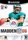 Madden NFL 06 Nintendo GameCube Video Games