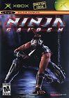 Ninja Gaiden Microsoft Xbox Video Games with Manual