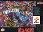 Teenage Mutant Ninja Turtles IV: Turtles in Time (Super Nintendo Entertainment System, 1992)