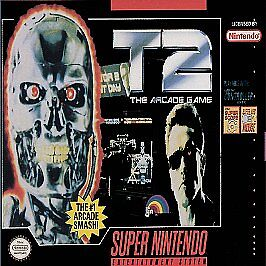 Details about T2 THE ARCADE GAME SNES SUPER NINTENDO GAME COSMETIC WEAR