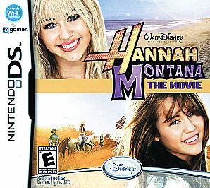 Hannah Montana the movie DS Game