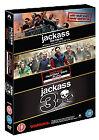 Jackass - 1-3 Movie Collection (DVD, 2011, 4-Disc Set, Box-Set)