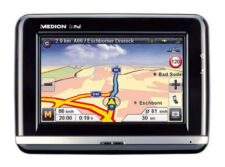 PDA Navigationssystem