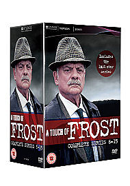 A Touch Of Frost - Complete Series 6-15  Box Set              Fast  Post