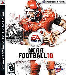 BRAND-NEW-Sealed-NCAA-Football-10-Sony-PlayStation-3-2009
