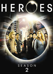 Heroes - Season 2 (DVD, 2008, 4-Disc Set...
