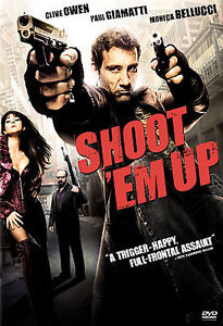 Shoot Em Up, Good DVD, Daniel Pilon, Greg Bryk, Stephen McHattie, Monica Belluc - $5.24