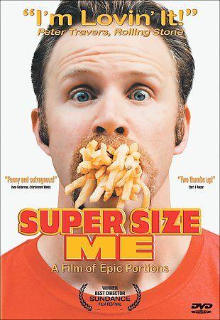 Super Size Me (DVD, 2004) Morgan Spurlock