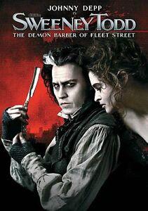 NEW DVD SWEENEY TODD: The Demon Barber of Fleet Street Johnny Depp Bonham-Carter