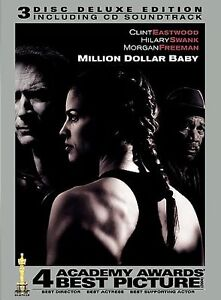 MILLION-DOLLAR-BABY-DVD-2005-3-Disc-Set-Deluxe-Edition-Boxing-Clint-Eastwood-NEW