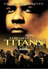 Remember the Titans (DVD, 2006, Unrated Extended)