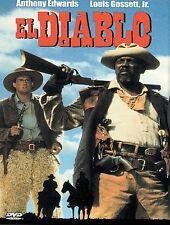 El Diablo DVD 1990 Western Comedy, Anthony Edwards, Louis Gossett Jr, John Glove