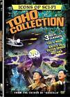 Icons of Science Fiction: Toho Collection (DVD, 2009, 3-Disc Set)