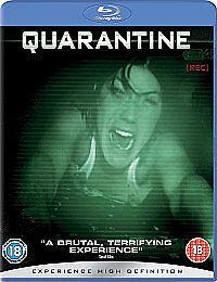 Quarantine (Blu-ray, 2009) Very Good Horror Film.
