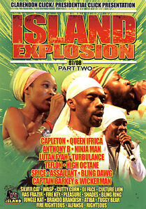 Various-Island Explosion 2007/08 Part2  DVD NEW